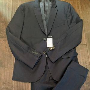 BNWT Navy Men's Suit
